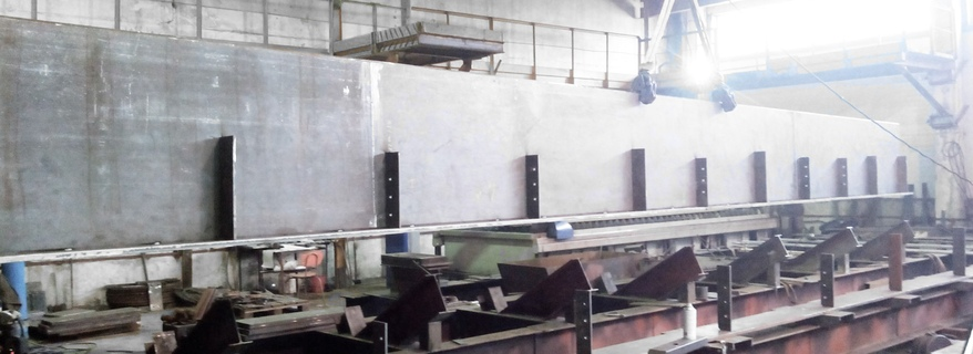 Production of welded beams